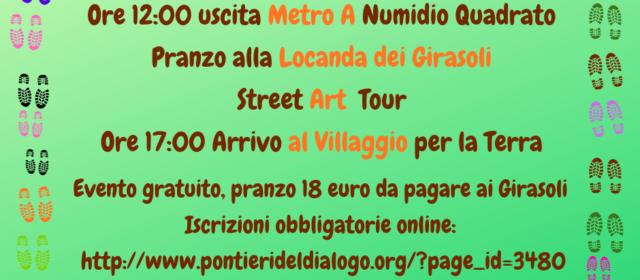 Una Street HeArt per la Locanda dei Girasoli
