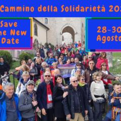 Il Cammino della Solidarietà 28-30 Agosto 2020